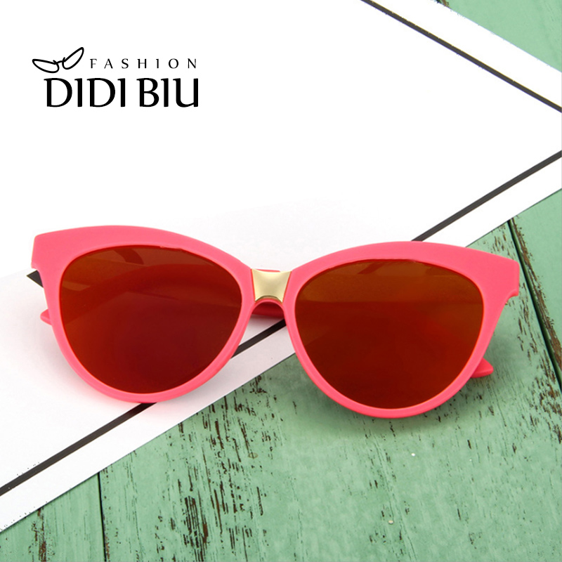 4b122fbe56f9b DIDI Kids Vintage Cat Eye Sunglasses Girls Boy Brand Transparent Frame Pink  Glasses For Children Oval Shade Eyewear Oculos CL884-in Sunglasses from  Mother ...