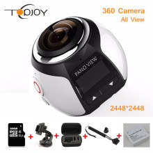 360 Camera Wifi Mini 360 Action Camera 2448*2448 Ultra HD Panorama Camera 360 Degree 220*360 Sport Driving VR Camera
