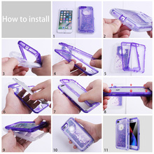 3D Glitter Case for iPhone