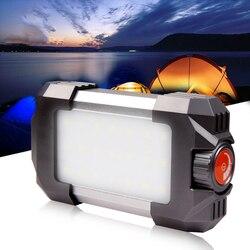 15 Вт Кемпинг Палатка свет открытый перезаряжаемый портативный фонарь 30 светодиодов лампа 500лм проблесковый маячок с USB фонарь для кемпинга