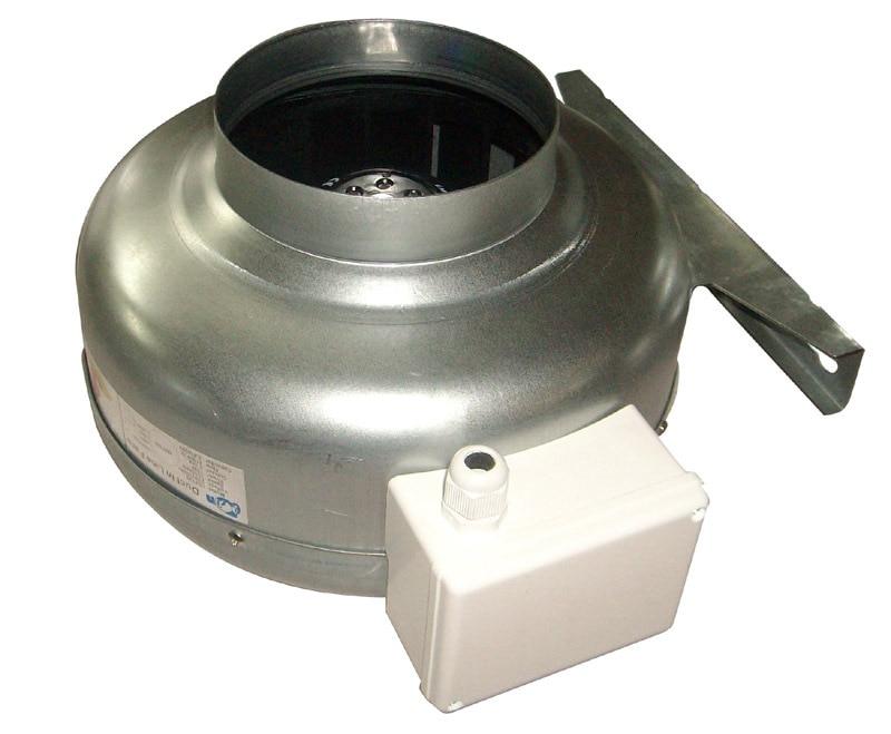 6 Quot Metal Circular Duct Fan High Press Inline Fan Ip44