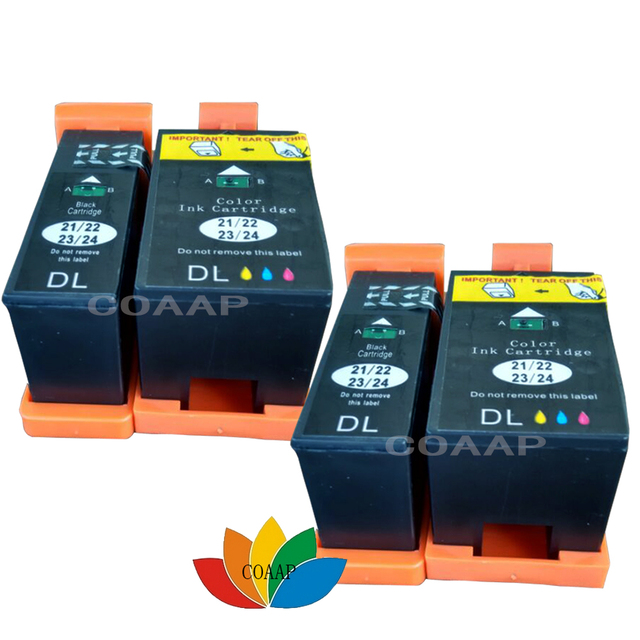 4 ink cartridges for dell v313 v313w v515w p513w p713w v715w printer rh aliexpress com Dell V5154 Dell V515w Printer Head Replacement