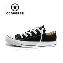 Converse Classic Low Top Skateboarding Shoes New Casual Comfortable Authentic Canvas Unisex Anti-Slippery Light Durable Sneakser цена