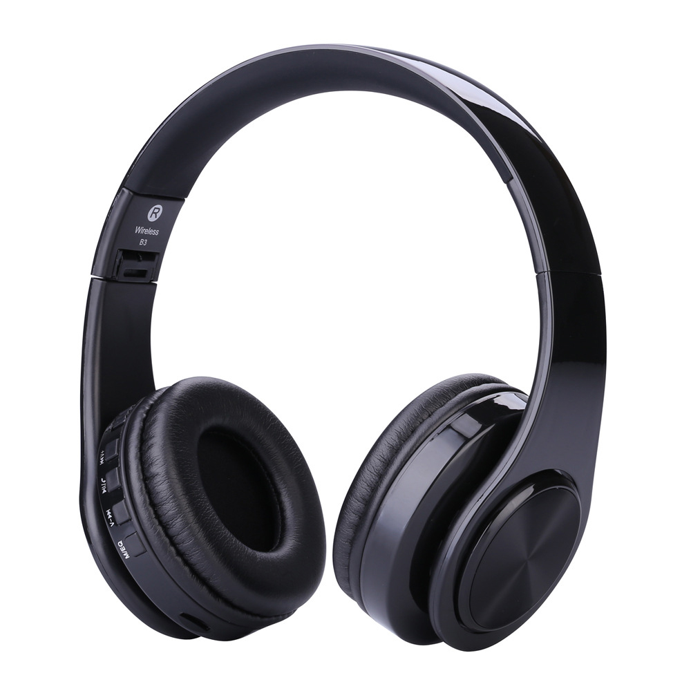 Elivebuy Foldable Bluetooth Headphone Voice control Sports Wireless Headphones Subwoofer Noise Cancellation auriculares kulaklik superlux hd669 professional studio standard monitoring headphones auriculares noise isolating game headphone sports earphones
