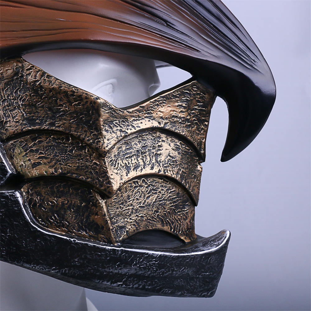 MONSTER HUNTERWORLD Helmet Cosplay legiana helm  Helmets Halloween Masks Props (7)