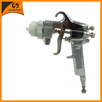 цена на SAT1182 automotive car paint high pressure pneumatic paint sprayer double nozzle hvlp air paint