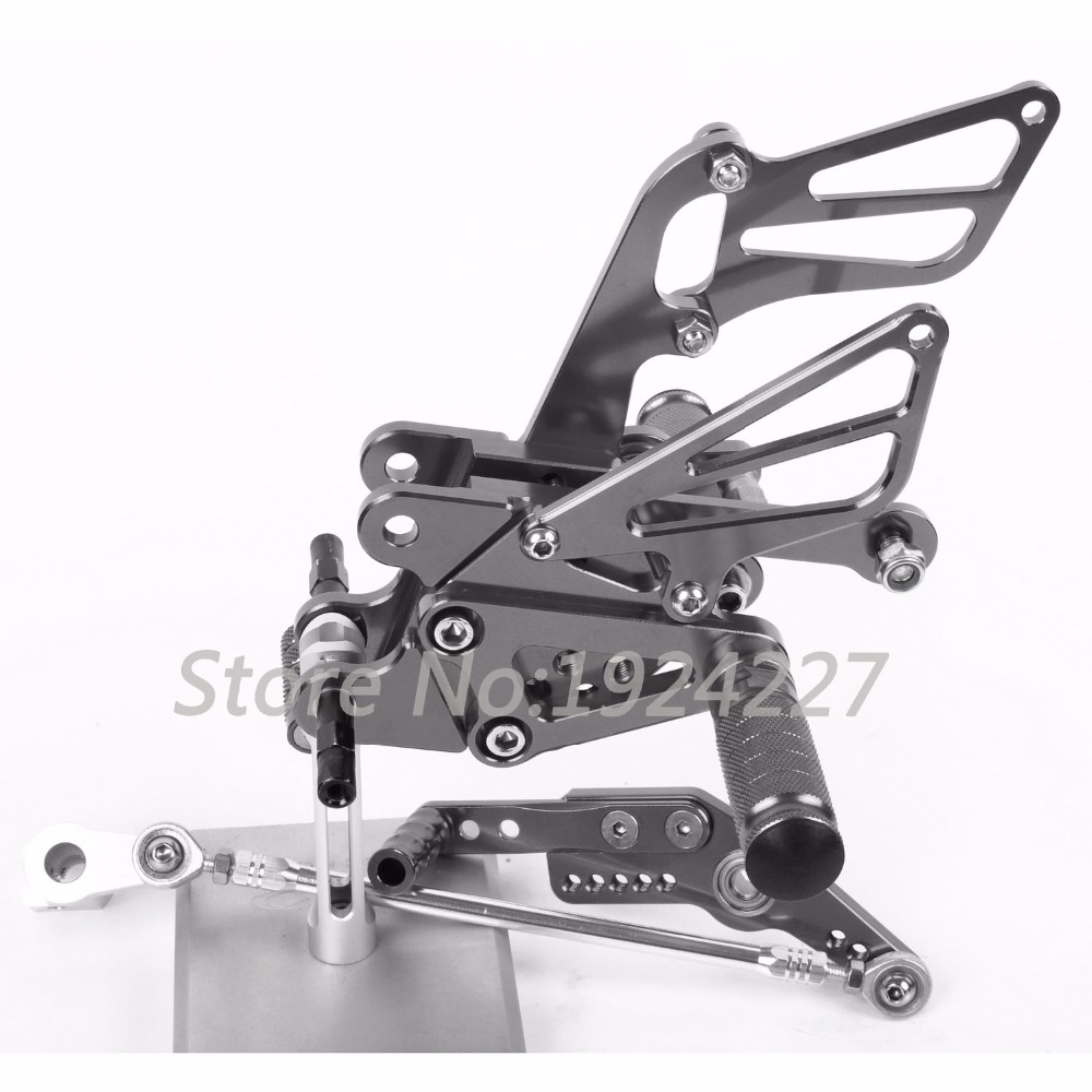 Motorcycle Footrest Adjustable Foot Pegs Rearsets For Honda CBR1000RR 2004-2007 Hot Motorcycle Foot Pegs Titanium