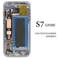 OEM качества для samsung S7 ЖК-экран с рамкой нет мертвых пикселей для мобильного телефона G930F сменный ЖК-дисплей ФС