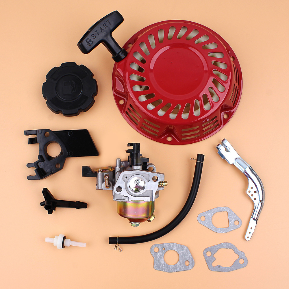 Recoil Starter Carburetor Governor Arm Lever Kit For HONDA GX160 GX200 GX 160 200 5.5hp 6.5hp Gas Engine Motor Generator 1 set recoil starter cup assembly red pull start for honda gx120 gx160 gx200 engine