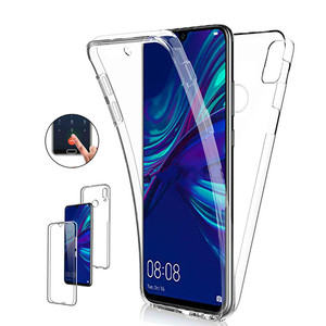 360 Back+Front Soft TPU Case for Huawei P20 Pro P30 Lite Y6 Y7 P Smart 2019 Cases P8 P9 P10 Plus Mate20 10 Full Protective Cover(China)