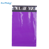 100pcs 6x9 Inch 15x23cm Purple Poly Mailers Shipping Bags Boutique Couture Envelopes