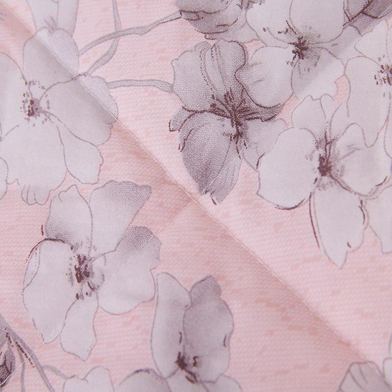 Au Dela Marque Rose Couette D Ete Frais Fleur Motif Douillette Lits