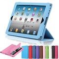 Для iPad Mini 3 Чехол Складной Фолио Смарт Стенд Тонкий Кожаный для Apple ipad Mini 2 Крышка ipad mini Case Mini 1 Защитный Coque