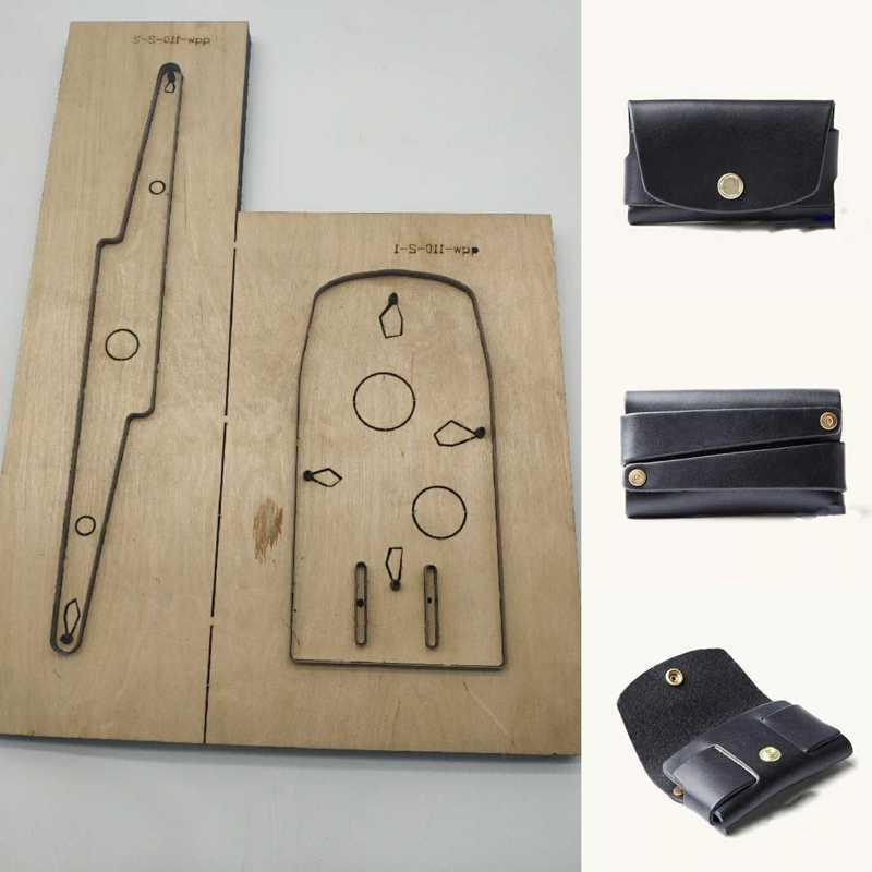 Japan Steel Blade DIY leather craft template card holder bag rivet connect wallet die Cutter cutting knife mold hand punch toolJapan Steel Blade DIY leather craft template card holder bag rivet connect wallet die Cutter cutting knife mold hand punch tool