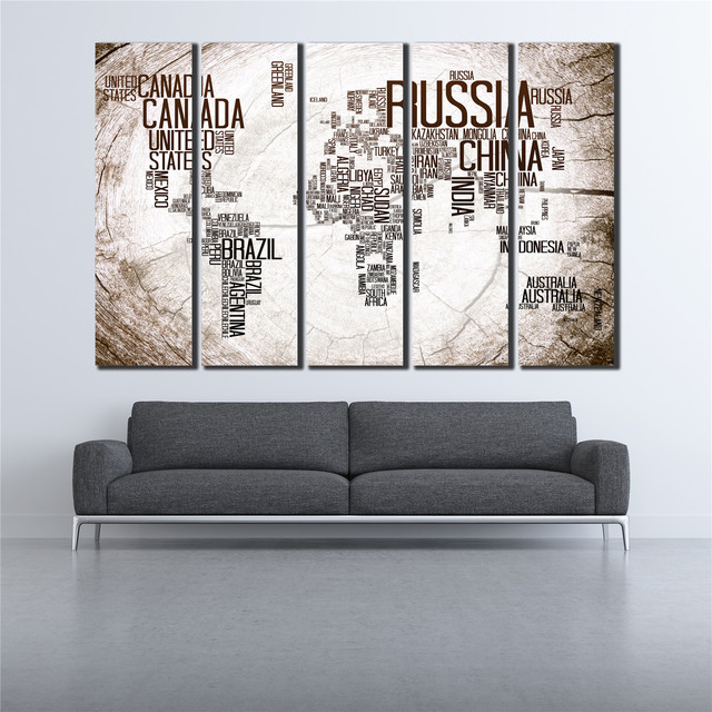 Vintage poster cuadros canvas painting the big letters world map vintage poster cuadros canvas painting the big letters world map wall art unframe wall pictures for gumiabroncs Choice Image