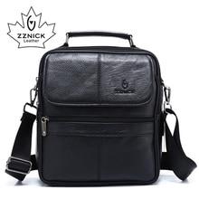 ZZNICK 2018 сумка через плечо из натуральной воловьей кожи, маленькие сумки мессенджеры, мужская дорожная сумка через плечо, сумки, новая модная мужская сумка