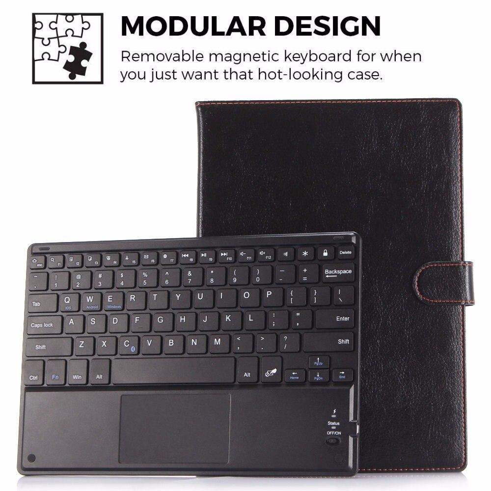 Pu leather case suporte capa + removível