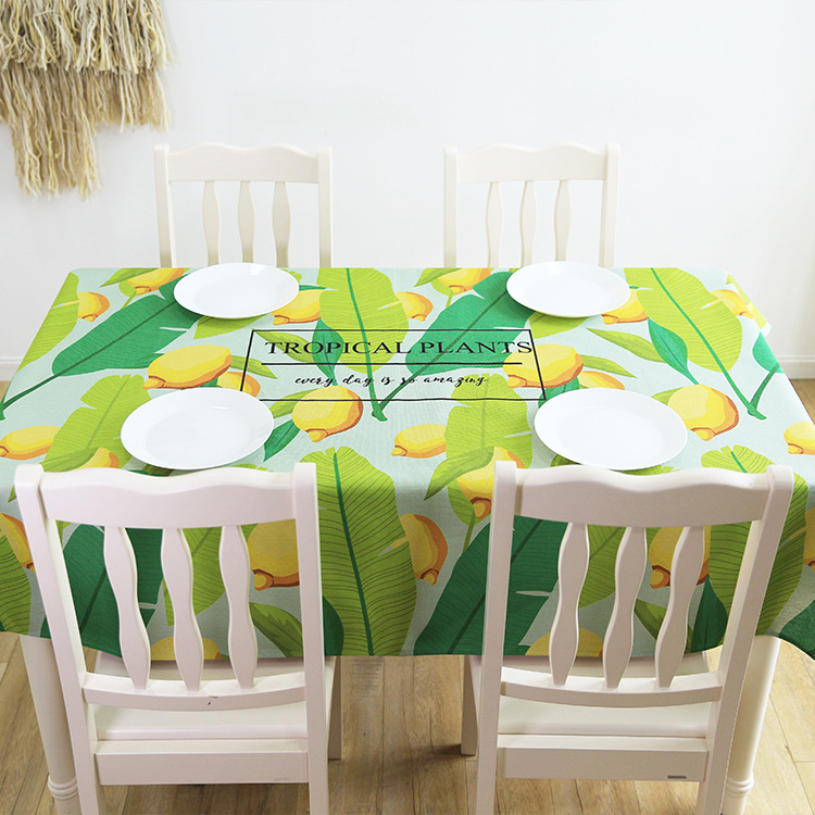 and contracted and pure and fresh cloth restaurant table cloth cover special offer wholesale custom sitting room