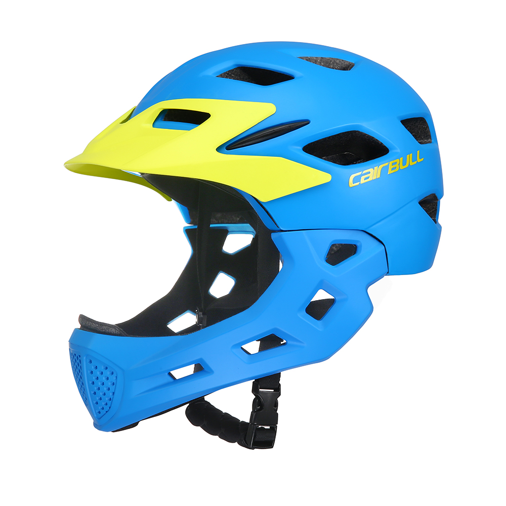 CAIRBULL Kid Cycling Helmet Full Face Children Motocross Downhill Safety Helmet Sports Protective Equipment For 2