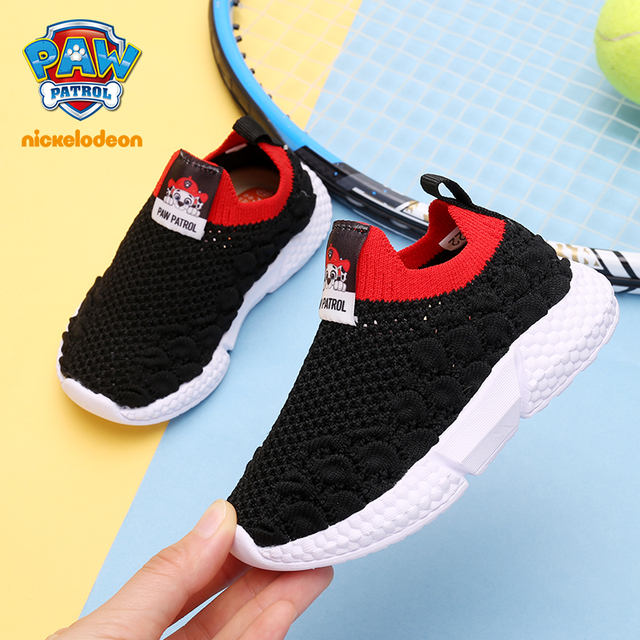 PAW PATROL Kids Shoes Girls Boys Sport Shoes Antislip Soft Bottom 2019 Breathable Kids Baby Sneaker Baby Girls Shoes Size 21-30