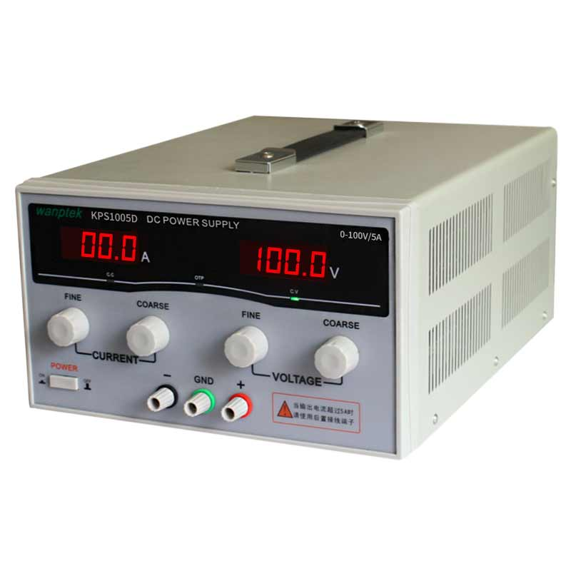 High quality Wanptek KPS1005D High precision Adjustable Display DC power supply 100V/5A High Power Switching power supply high quality wanptek kps6030d high precision adjustable display dc power supply 0 60v 0 30a high power switching power supply