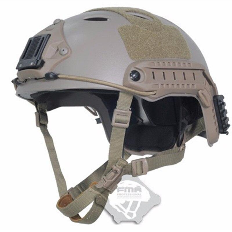 Prix pour 2016 Capacetes Armée Militaire Tactique Casque Couverture Casco Airsoft Accessoires Fma Paintball Rapide Saut De Protection Visage Masque