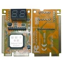 3 в 1 Мини PCI-E LPC PC Analyzer Тесты er открытка Тесты для Тетрадь ноутбука шестнадцатеричных символов Дисплей