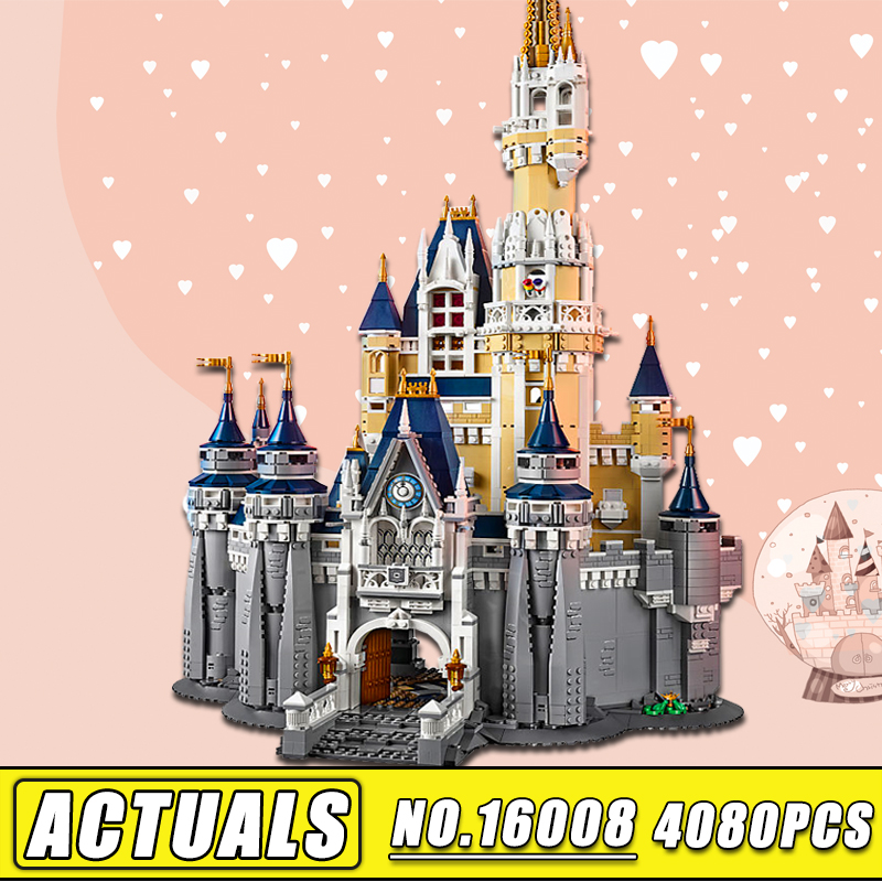 IN STOCK Lepin 16008 Friends the Cinderella Princess Castle City Model Building Block Kid Toy Legoinglys Gift Compatible 71040 lepine 16008 cinderella princess castle 4080pcs model building block toy children christmas gift compatible 71040 girl lepine