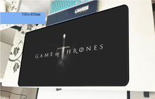 Game of Thrones mouse pad 70x40cm Beautiful mousepads best gaming mousepad gamer Domineering mouse pads keyboard