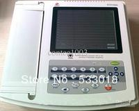 12 channels ECG / EKG Machine with USB software with Printer and Paper