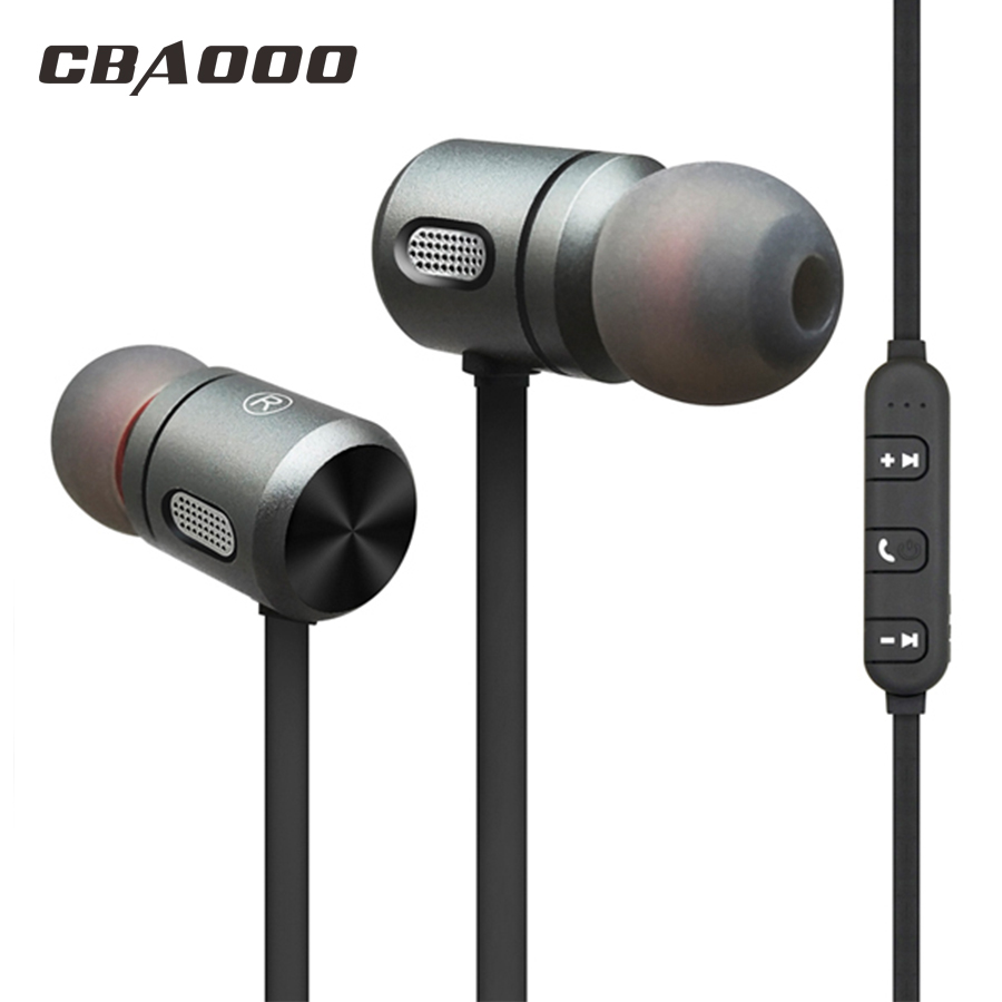CBAOOO C10Wireless Earphone Headphone Bluetooth Sport Headset Bass Stereo earbuds magnetic Headphones with microphoe for iphone tebaurry s2 bluetooth earphone wireless headphone bluetooth headset sport stereo super bass earbuds with microphone for running