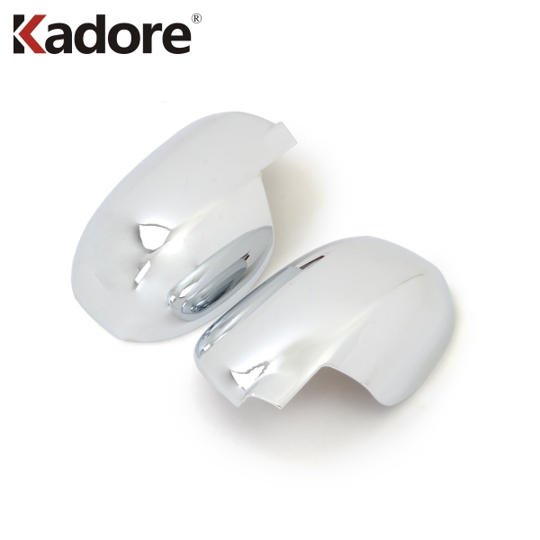 For Mitsubishi Outlander 2013 2014 2015 2016 2017 ABS Chrome Rearview Mirror Cap Cover Side Door Rear View Mirrors Covers 2PCS