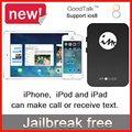 Mini Nenhum Jailbreak Do Bluetooth De Multi Dupla 2 SIM Adaptador de Cartão Dual SIM Dual Standby para iPhone6/6 plus/5/4 iOS7-10 Gmate GoodTalk