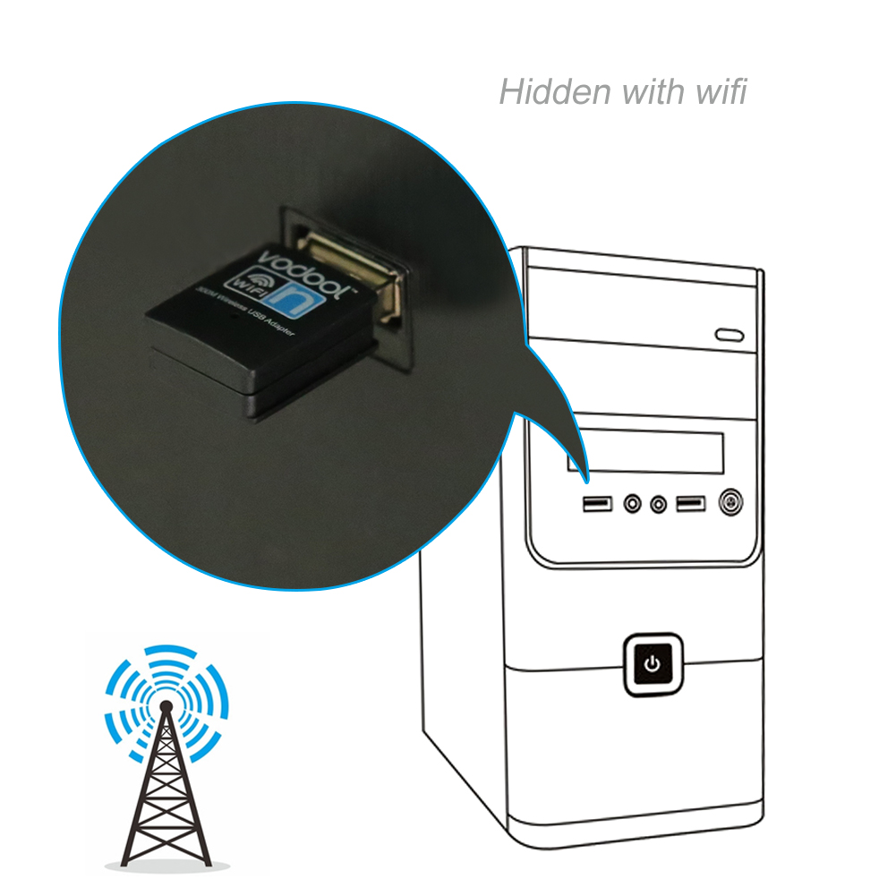 mini usb 2 0 realtek 8192eus 300mbps wifi wireless lan network internet adapter 300m wireless usb adapter 802 11n g b in network cards from computer  [ 1001 x 1001 Pixel ]