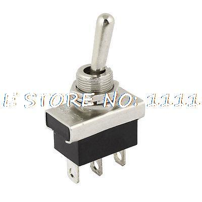 KN3D-103 AC 12V 25A 3 Pins ON/OFF/ON 3 Ways 1P2T SPDT Toggle Switch Replacement skullies