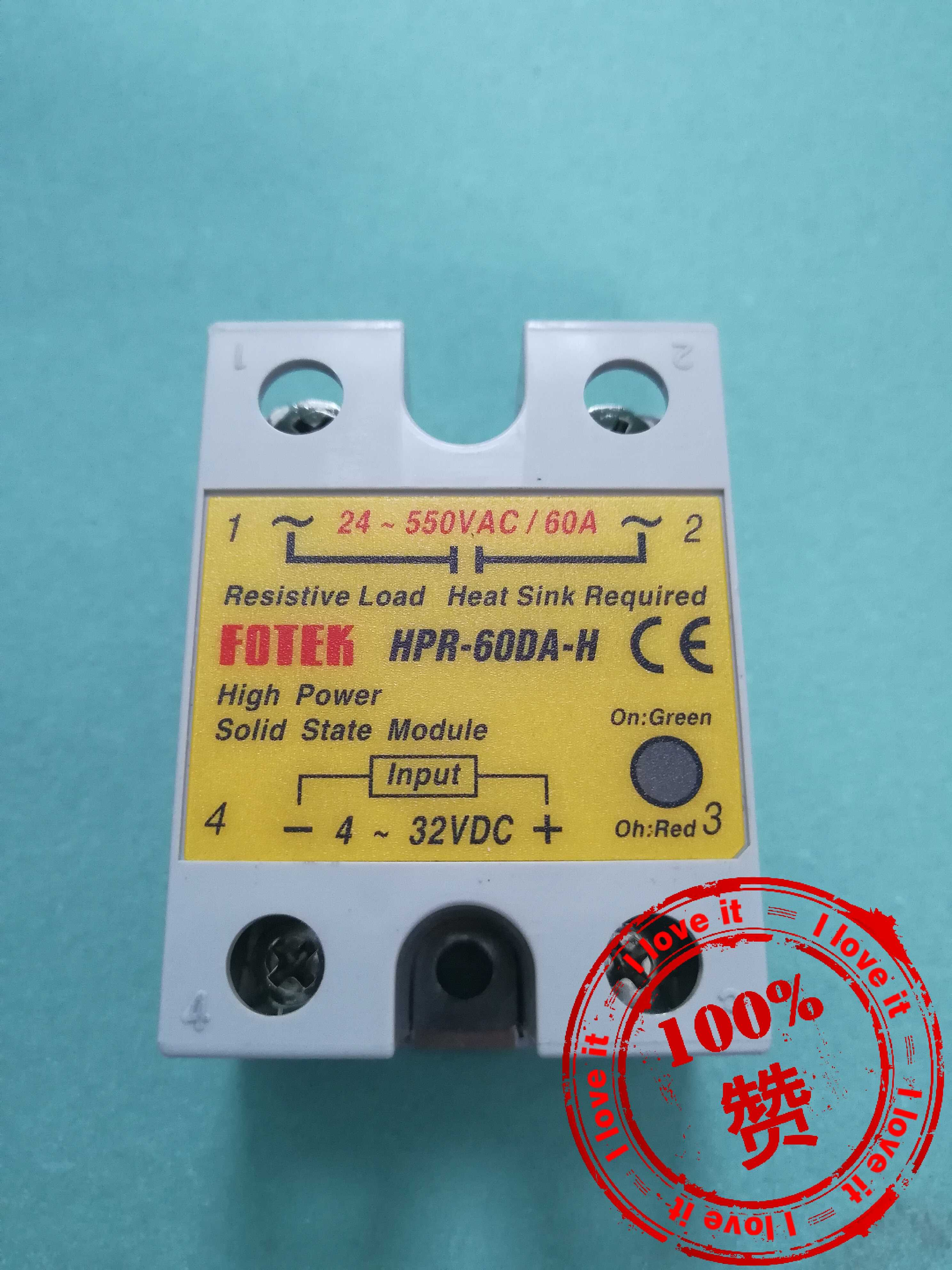 HPR-60DA-H High Voltage High Power Solid State RelayHPR-60DA-H High Voltage High Power Solid State Relay