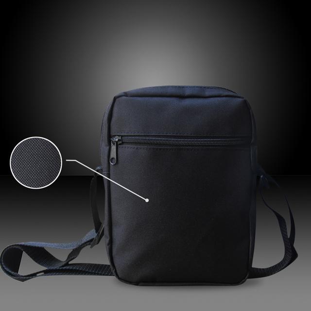 FORUDESIGNS Men Messenger Bags Cool Animals Wolf Shoulder Bag 3D Pet Husky Dog Printed Crossbody Bag Men's Travel Bag Handbag