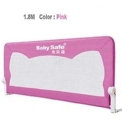 2016 heißer Verkauf Verkauf Gasherd Knopf Baby Tor Tür Stop Babysafe Bett Schienen Kind Zaun Kind 1,8 Meter Allgemeinen für Puffer-typ