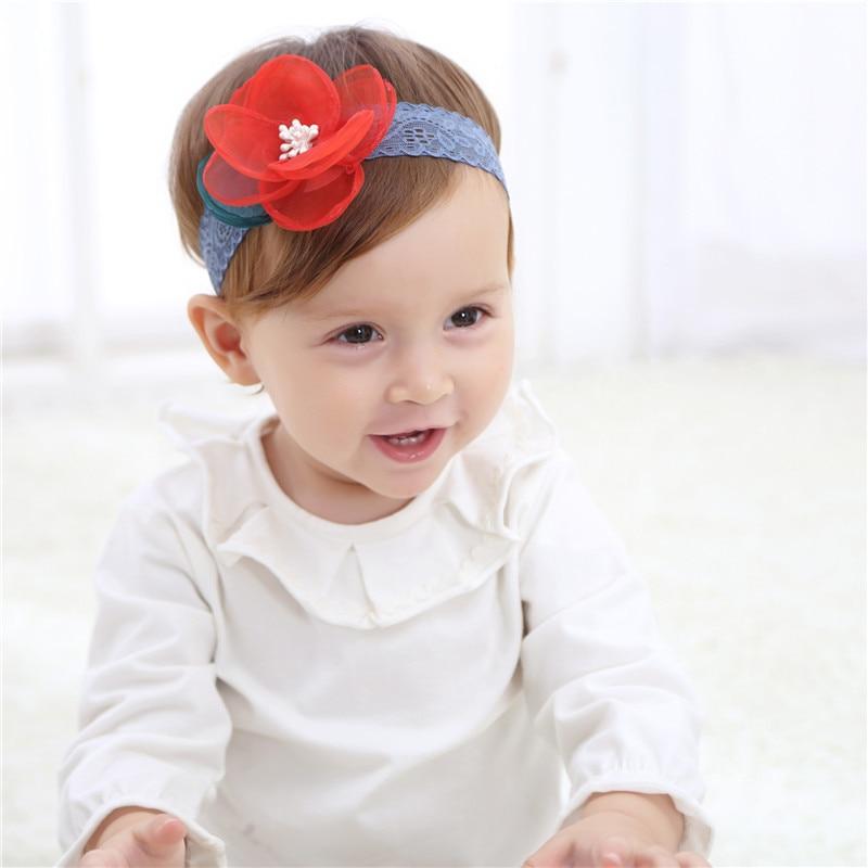 20 tipos moda nuevos niños accesorios para el cabello bebé banda - Ropa de bebé - foto 5