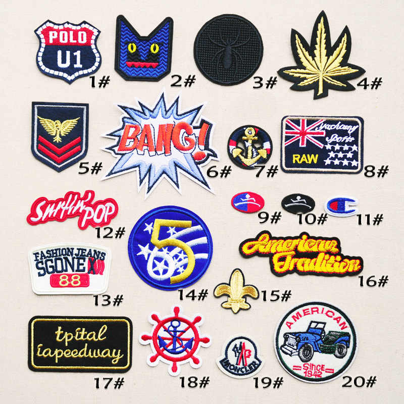 Fashion personality wild cloth badge affixed stickers cowboy clothes decorative applique repair small holes patch for Children