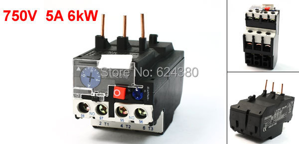 Lr2 d1316c 9 13a three 3 pole motor protection thermal for Motor thermal overload protection