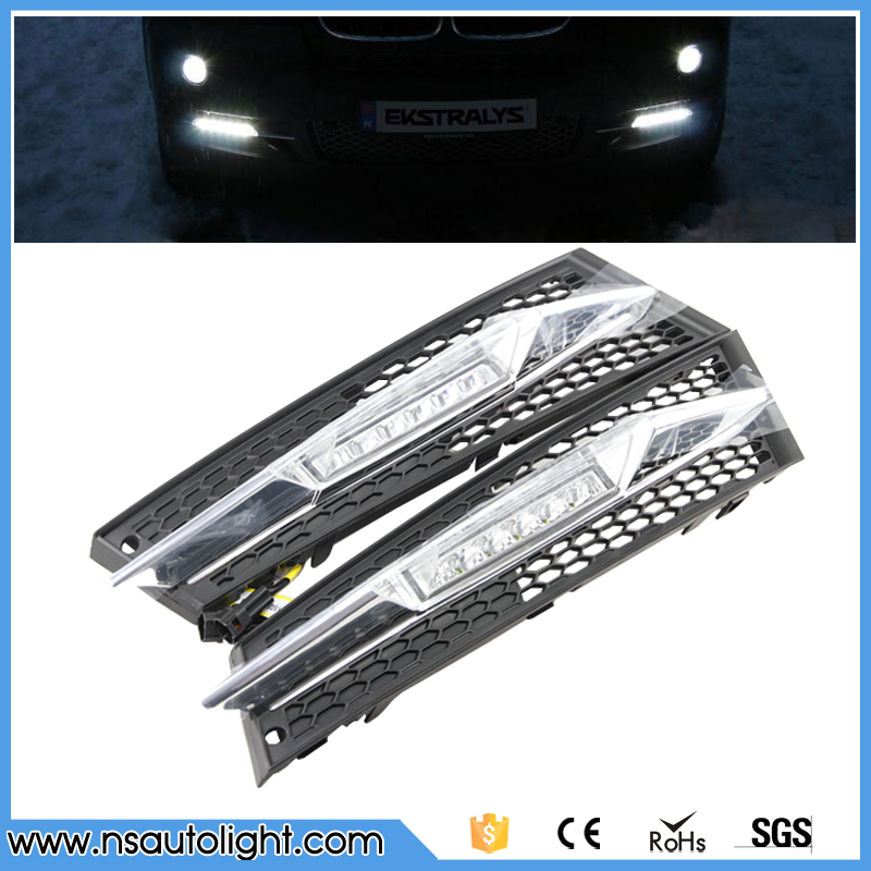 LED Car Daytime Running Light 12W Cr ee High power 6000K 1320lm Headlights DRL for BMW E92 LCI Coupe/ E93 LCI Convertible 11-13 high quality light high power led daytime running lights for bmw e90 lci 3 series sedan 15w 2009 2012 freeshipping