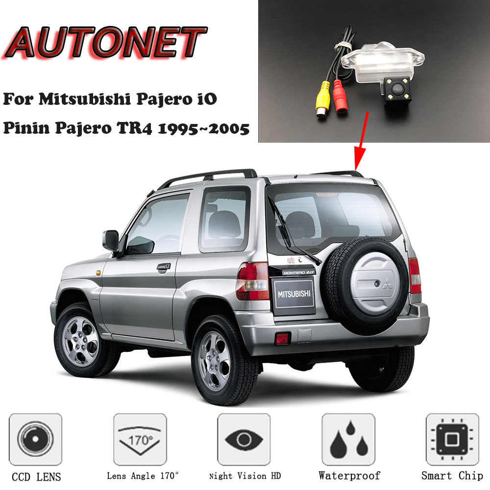 Autonet backup rear view camera for mitsubishi pajero io pinin pajero tr4 19952005 night