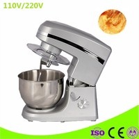 Electric Mixer Food Processor Dough Kneading Machine 5L Eggs Cake Kitchen Stand Mixer Food Cooking Mixing