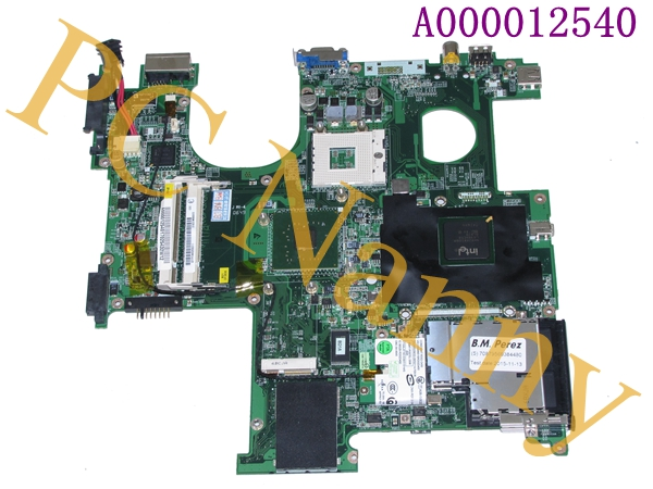 FOR TOSHIBA Satellite P100 P105 Motherboard A000012540 31BD1MB00F3 DABD1VMB06C