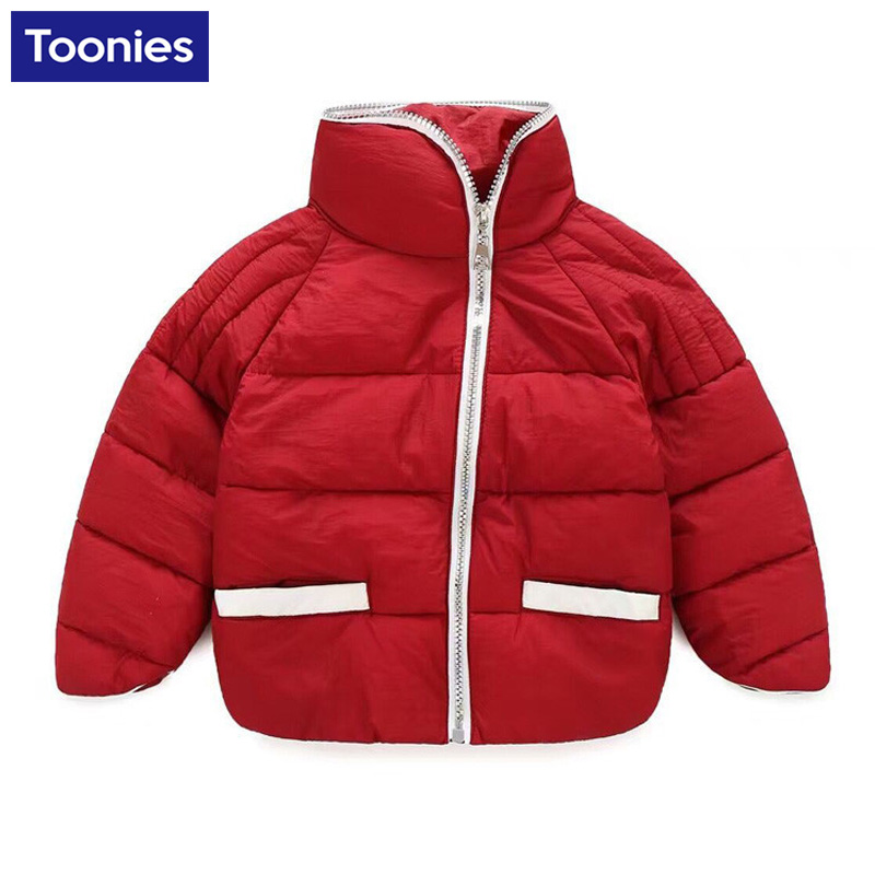 2016 New Children Outerwear Cotton Winter Hooded Coats Kids Coat Children's Boys Clothing Thickening Warm & Parkas