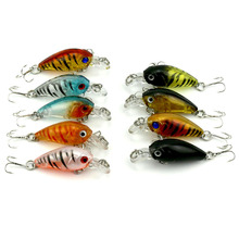 1Pcs Mini Fishing Lure Pesca Iscas Artificiais Wobbler 4.5cm 4g Crankbaits Topwater Japan lure Fishing Wobblerse WQ50