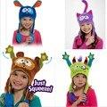 Niños Térmicas Orejeras de Dibujos Animados Gorras de Invierno Hat para Bebés y Niños Flipeez Chritmas Regalos Para Niños Sombrero Del Conejo