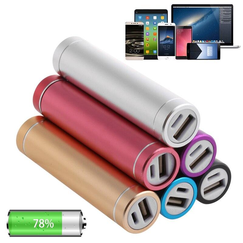 1 предмет Металл 5 В USB Запасные Аккумуляторы для телефонов случае kit 1×18650 Батарея Зарядное устройство DIY коробки для сотового телефона