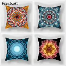 Fuwatacchi Floral Throw Pillows 3D Style Cushion Cover Multi Color Flower Printed Pillow Decorative for Sofa Car